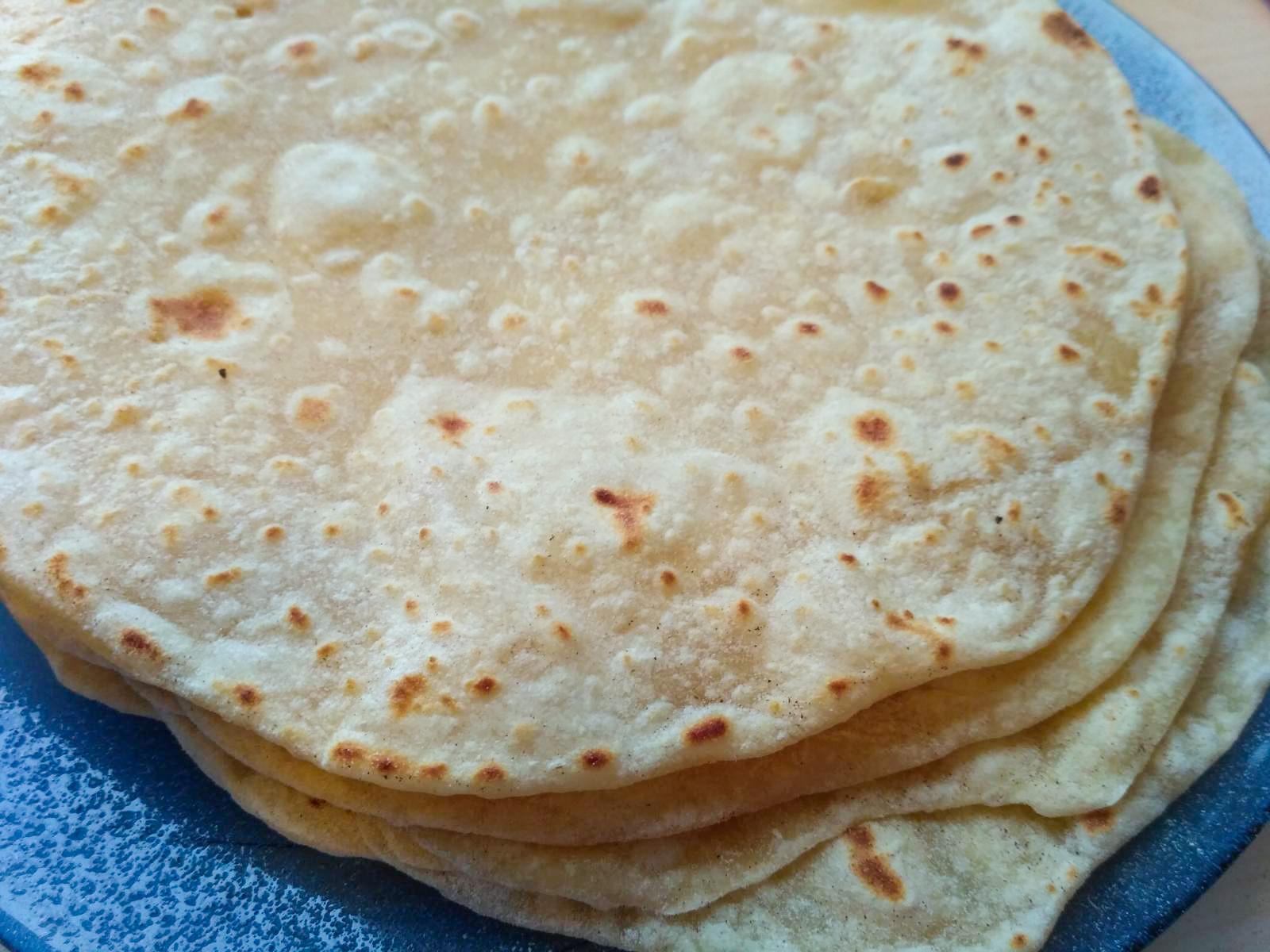 Tortilla lap
