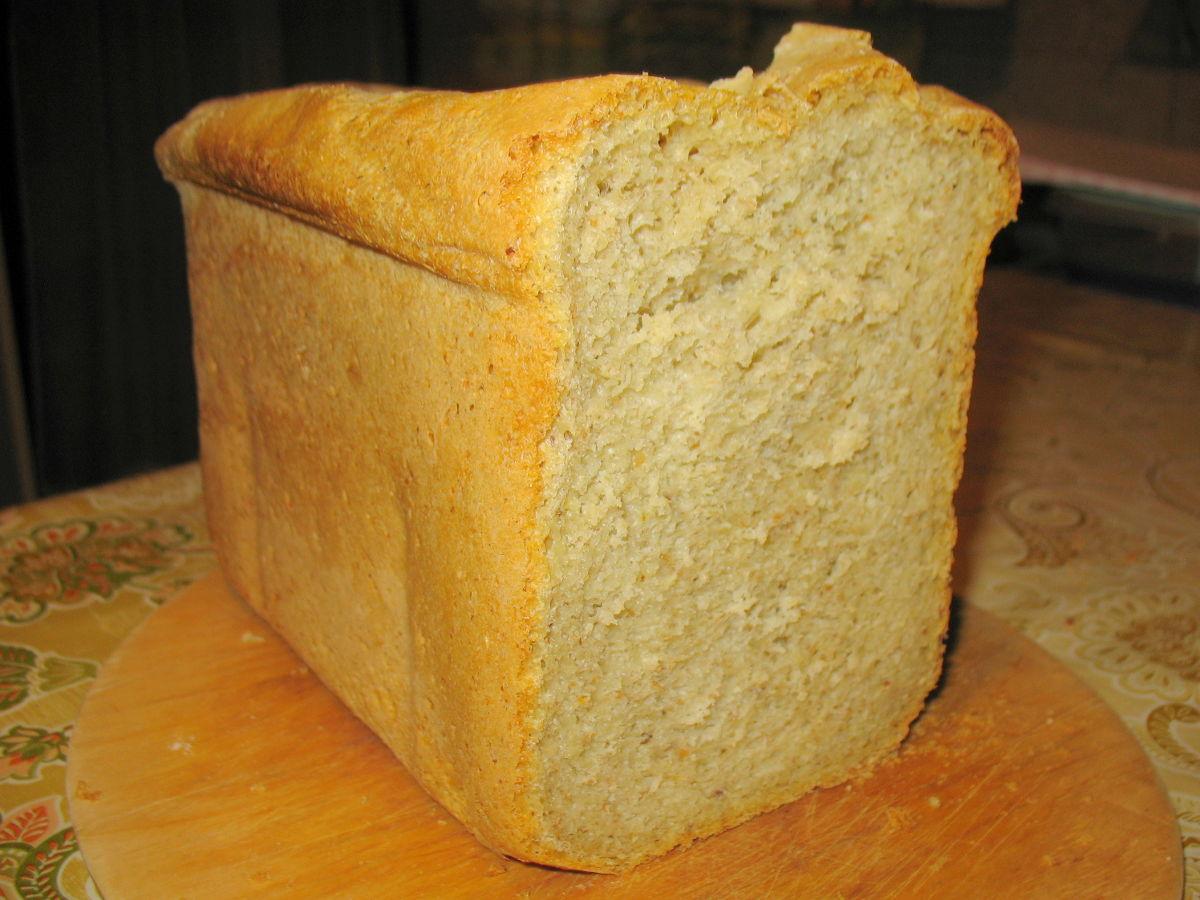 Zabpelyhes kenyér – kenyérsütőgéppel