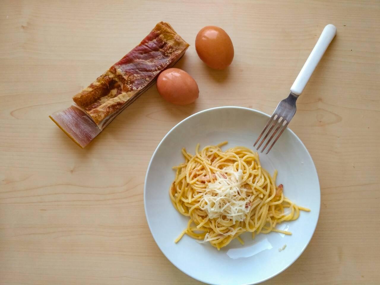 """Carbonara spagetti recept – az eredeti és a """"magyaros"""" verzió"""