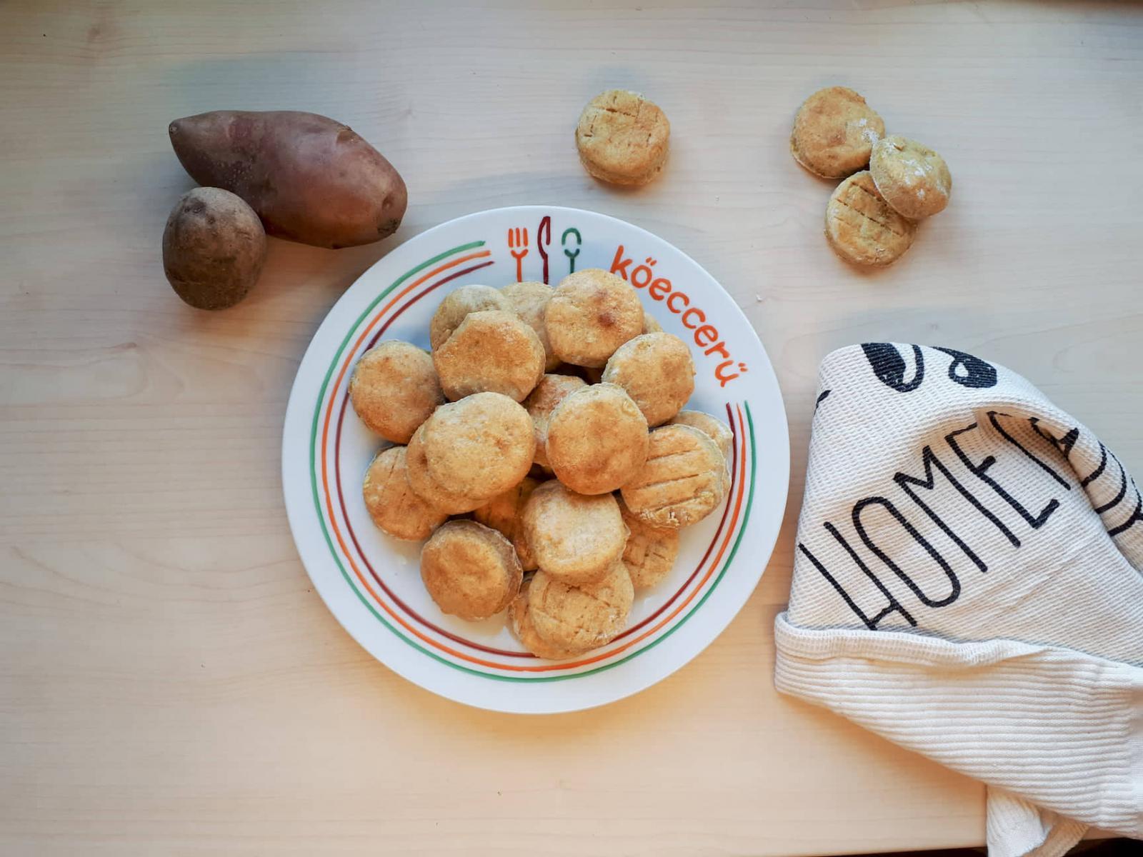 Krumplis pogácsa – élesztő nélkül