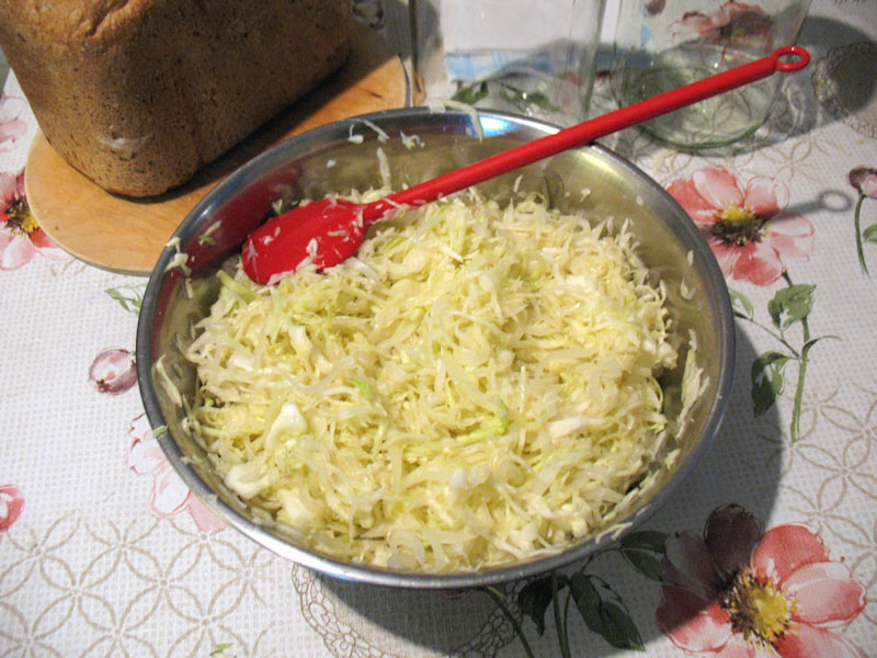 Káposzta saláta köménnyel